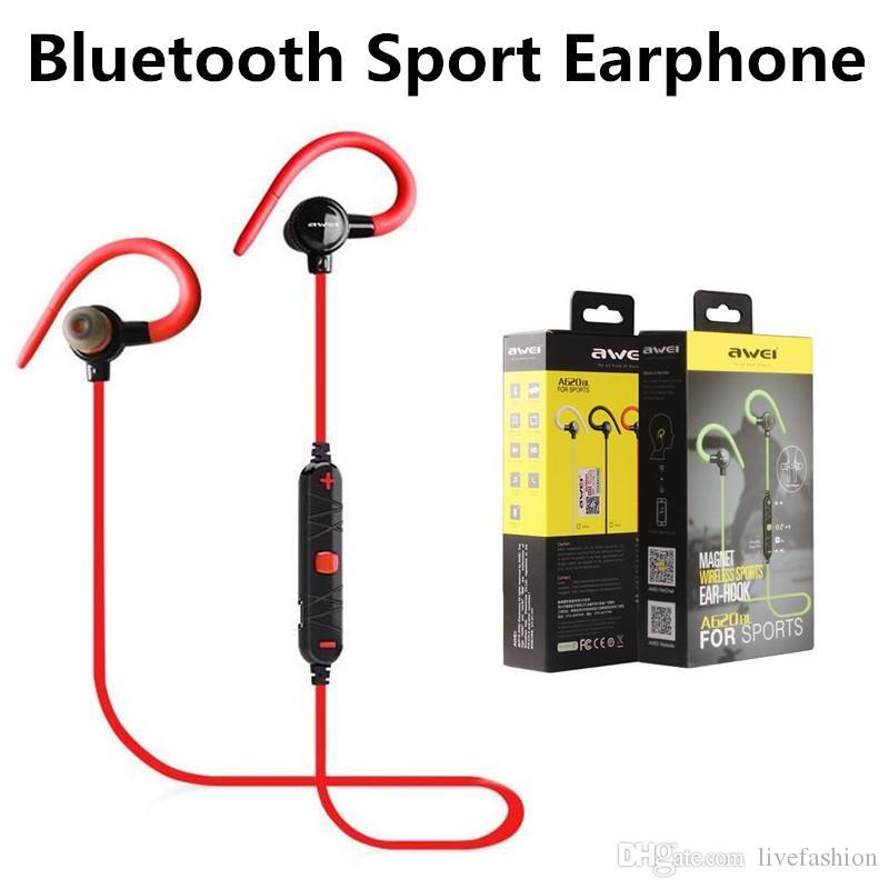 Auricolari Lg AWEI A620BL V4.0 Stereo Bluetooth Heardset Auricolare  Colorato Iphone Universal HTC Outdoor Sport Auricolari Bluetooth Senza Fili  Auricolari ... 20dd98bab1d4