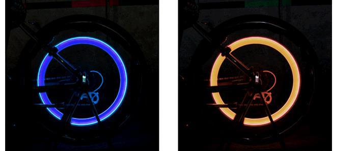 Our wheel type hot wheels light gas mouth light valve light bike lights bicycle parts