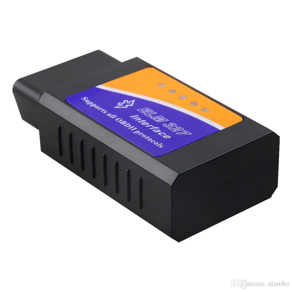 Car code reader ELM 327 Bluetooth best hardware V2.1 OBD II ODB2 ELM327 Car interface