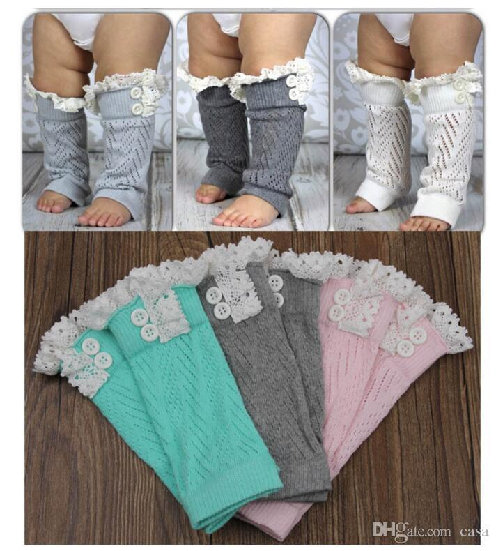 Toddlers Baby Kids Knitted Lace Ruffles Leg Warmer,Leggings Baby ...
