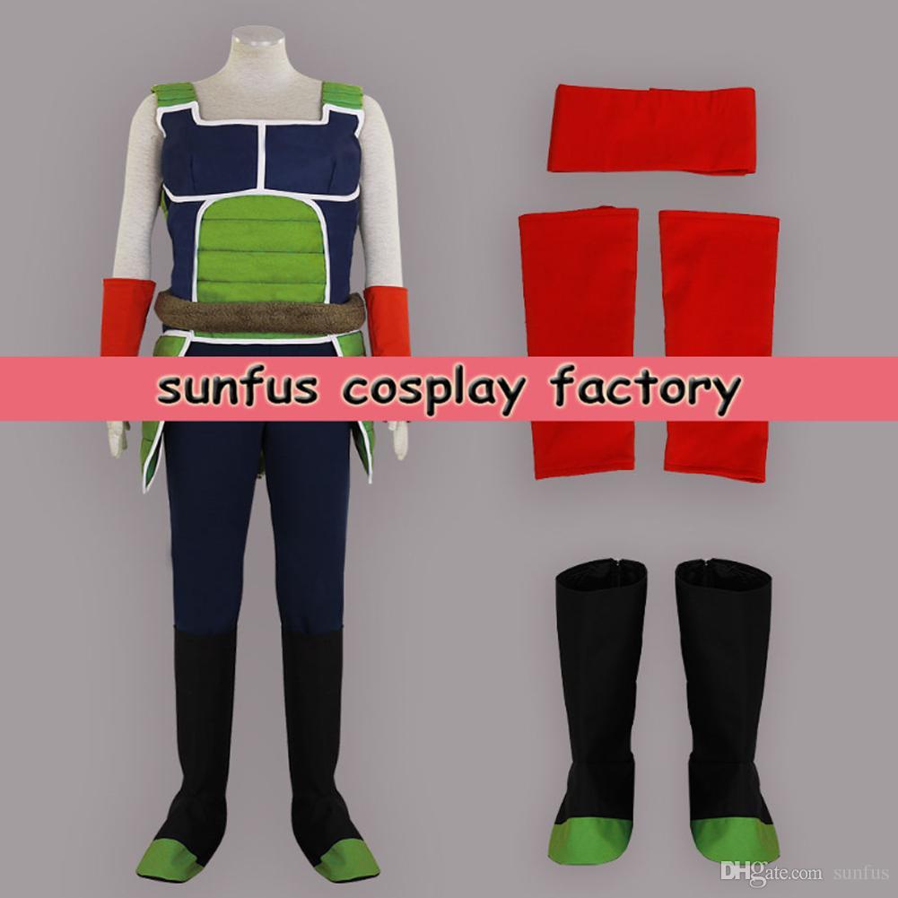 Halloween Dragon Ball Dragon Ball Z Vegeta Costume Cosplay Custom ...