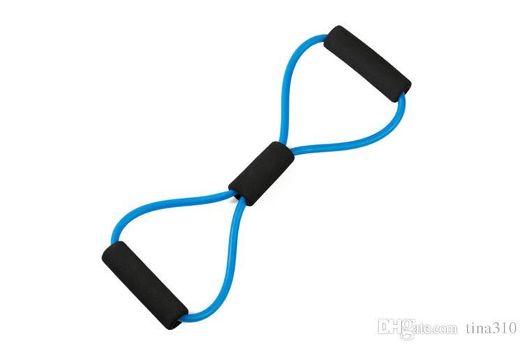 Nuevo Llega Banda de Entrenamiento de Resistencia Tubo Entrenamiento Ejercicio para Yoga 5 Tipo Extensor de Pecho de Moda Body Building Fitness Equipment Tool IB045