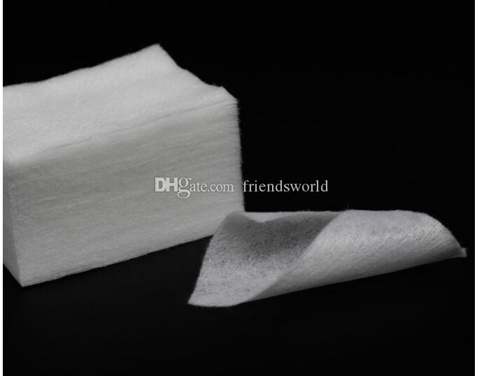 Trasporto veloce 900 Pz / pacco Nail Sticker Decal Nail Art Suggerimenti Manicure Polish Remover Salviette Pulite Cotone Lint Pads Strumenti Nail Carta