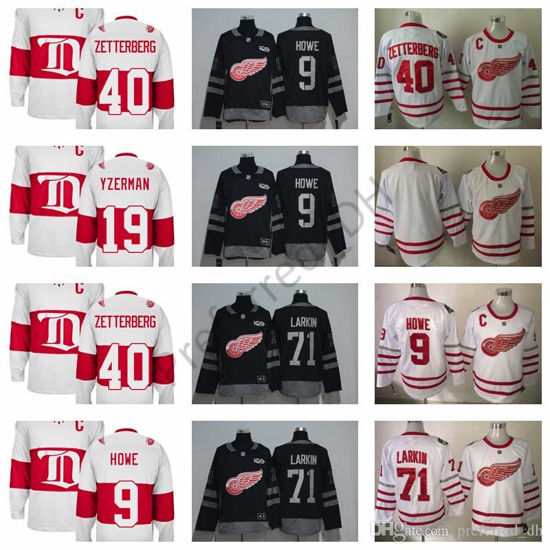 fa2dc31c008 Cheap Yes Dylan Larkin Jersey Best Men Ice Hockey Reasonable Price Jersey S