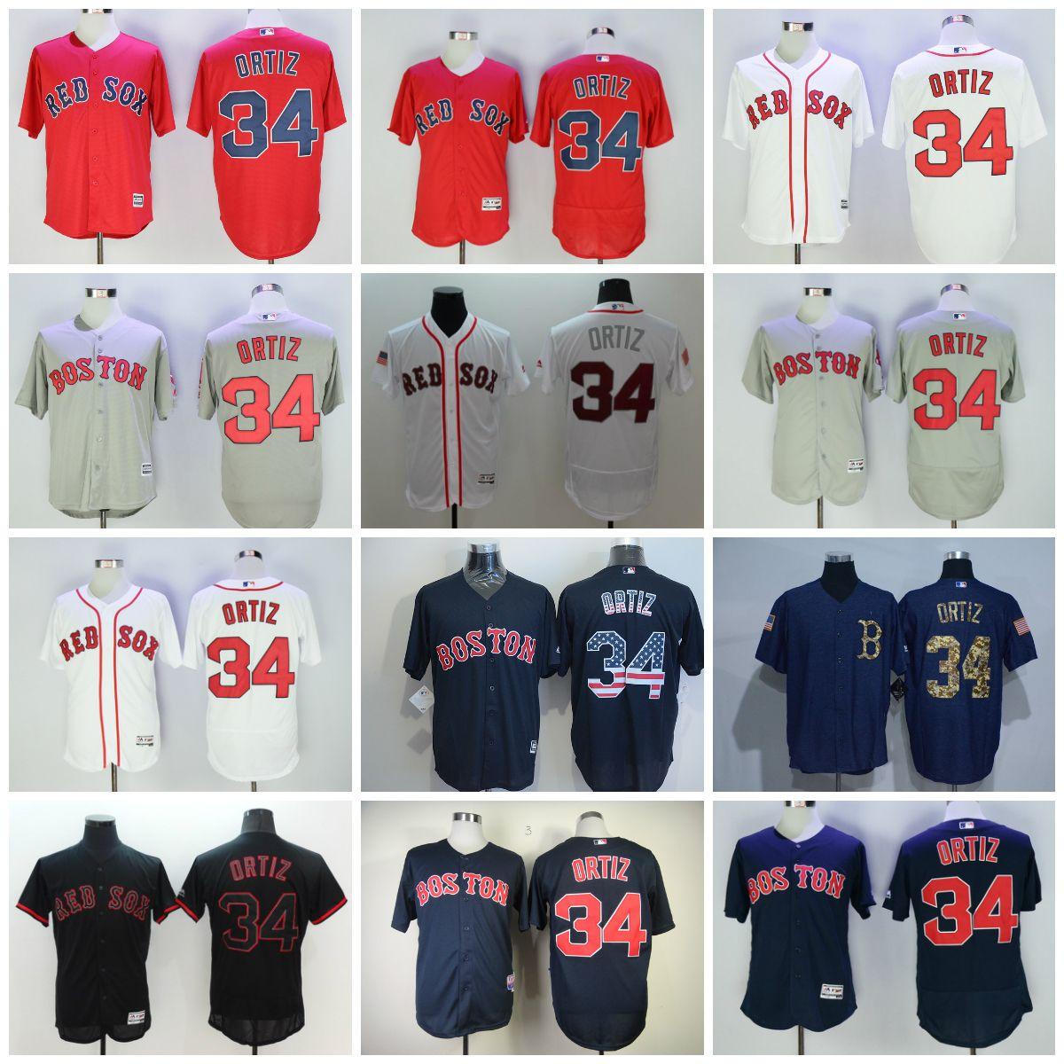 size 40 8dd13 c0f96 boston red sox 34 david ortiz gray kids jersey