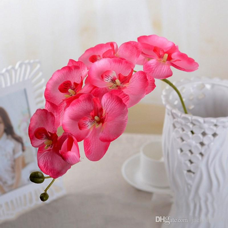 Best Beautiful Diy Phalaenopsis Artificial Butterfly Orchid Silk ...