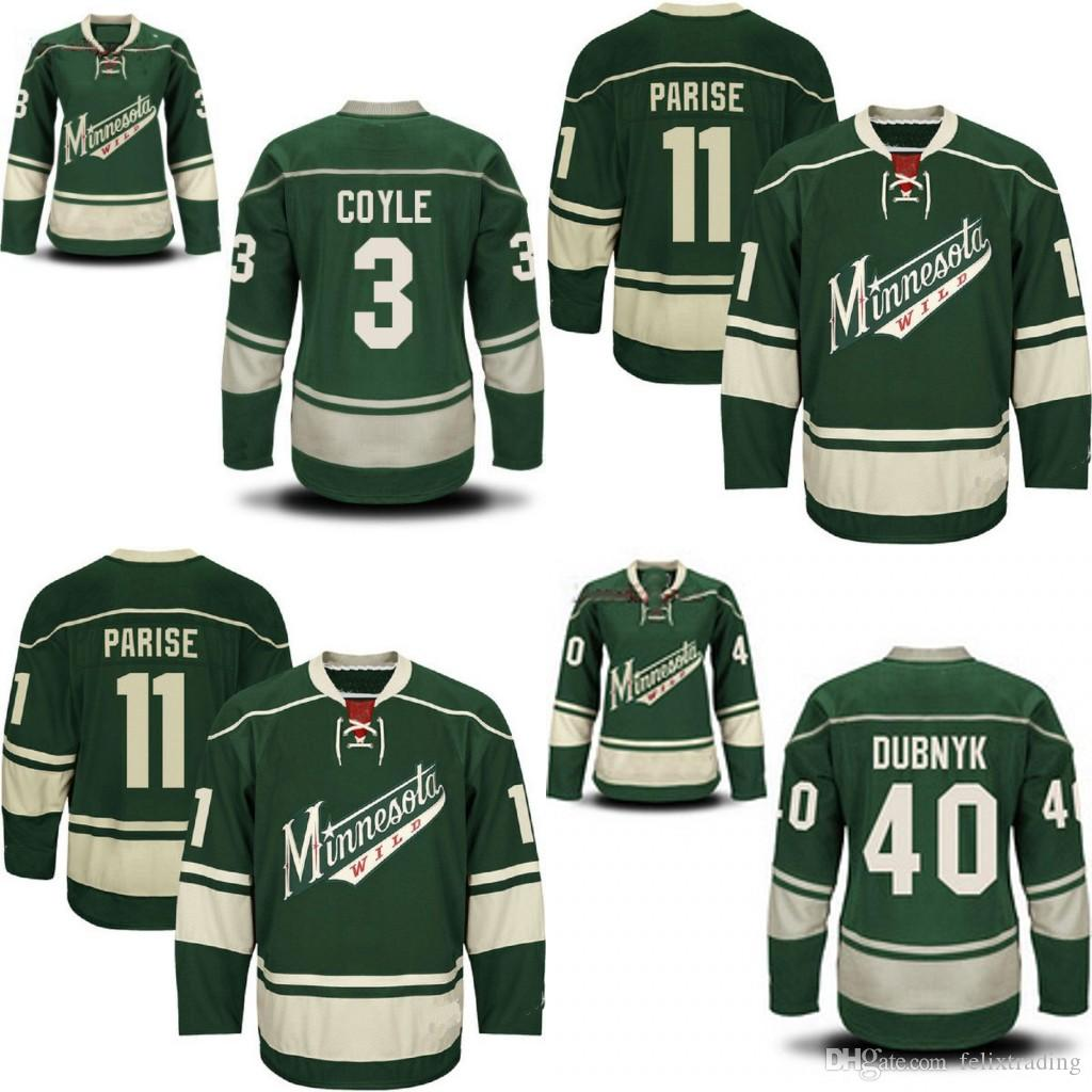 620ce3ca62c ... sale 2018 minnesota wild hockey jerseys 3 charlie coyle 11 zach parise  40 devan dubnyk hockey