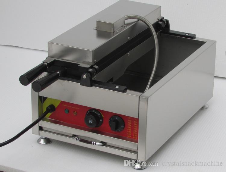 5 ADET Açık Ağız Kore Balık Waffle Makinesi Elektrikli Taiyaki Makinesi Kore Taiyaki Pan Dondurma Balık Şekil Waffle Baker