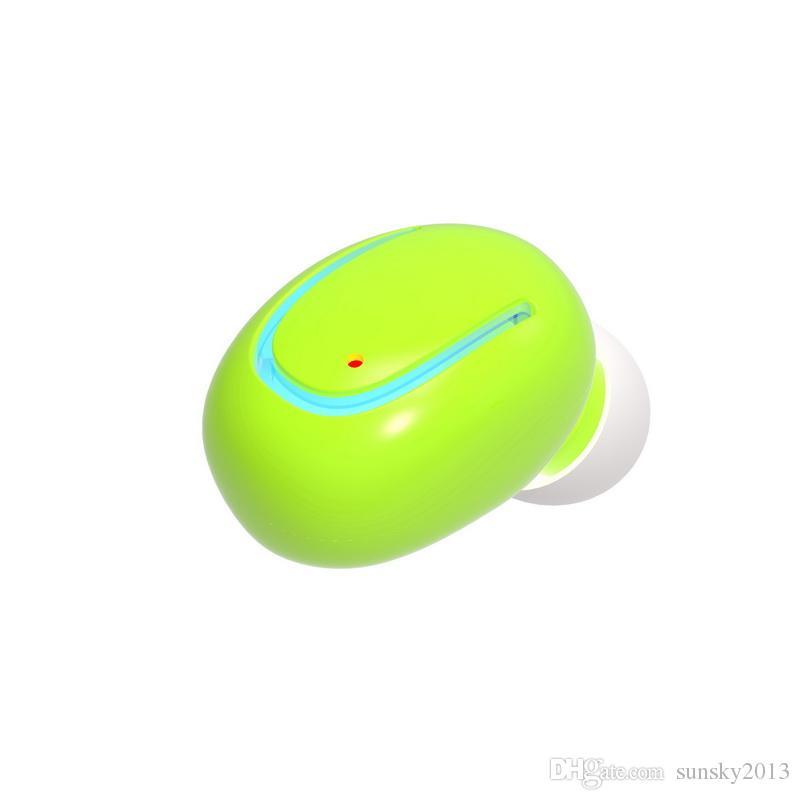 Auricolari in-ear Q13 Bluetooth Mini Cuffie senza fili invisibili con microfono Vivavoce iPhone LG Telefono Android BT 4.1 Auricolari