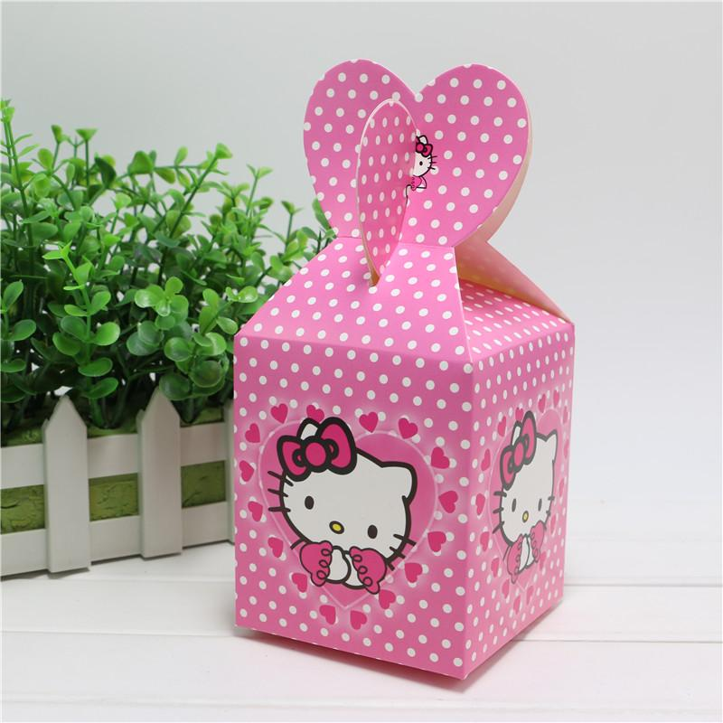 Wholesale New Baby Shower Favors Hello Kitty Favor Box Candy Box Birthday  Party Souvenir Boy/Girl Kids Event U0026 Party Supplies Christmas Wrapping  Paper Roll ...