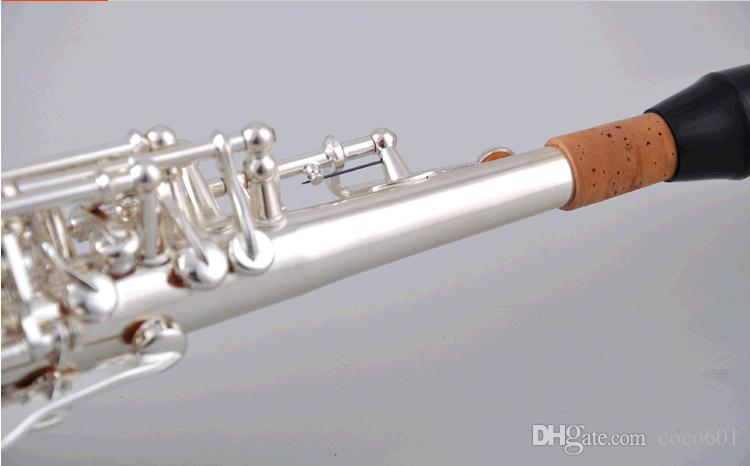 L'alta qualità del Giappone YANAGISAWA 902 B strumento piatto di musica Sassofono soprano Yanagisawa trasporto libero dritto sax