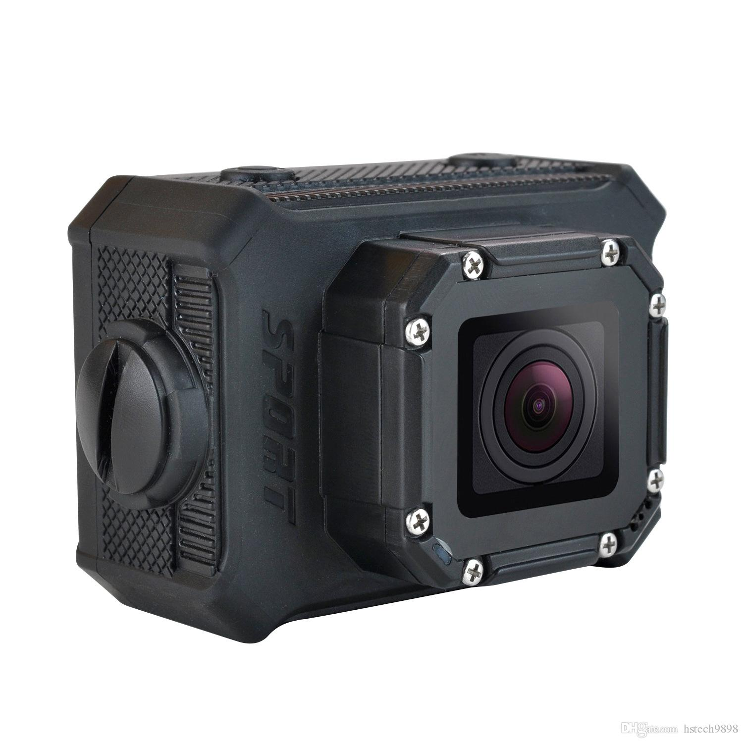 High quality S9 Bare-metal 30m underwater waterproof WIFI action camera 170°A+ HD wide-angle lens 2.0LTPS screen video sport DV