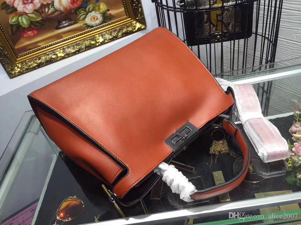 2017 nouveau sac à main, peut être Messenger, épaule, luxe de haute qualité. Matériel de veau importé, sac à main de dames classique de mode