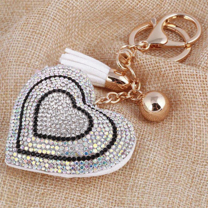 Brand new Gold Heart Key Chains #ID04 – Advancedmassagebysara