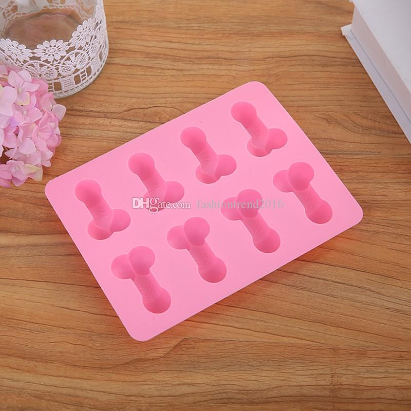 Silicone Ice Cube Tray Mould Chocolate Candy Jello Mold Party Decoration 2019 New Arrival Ice Cream Maker Tools