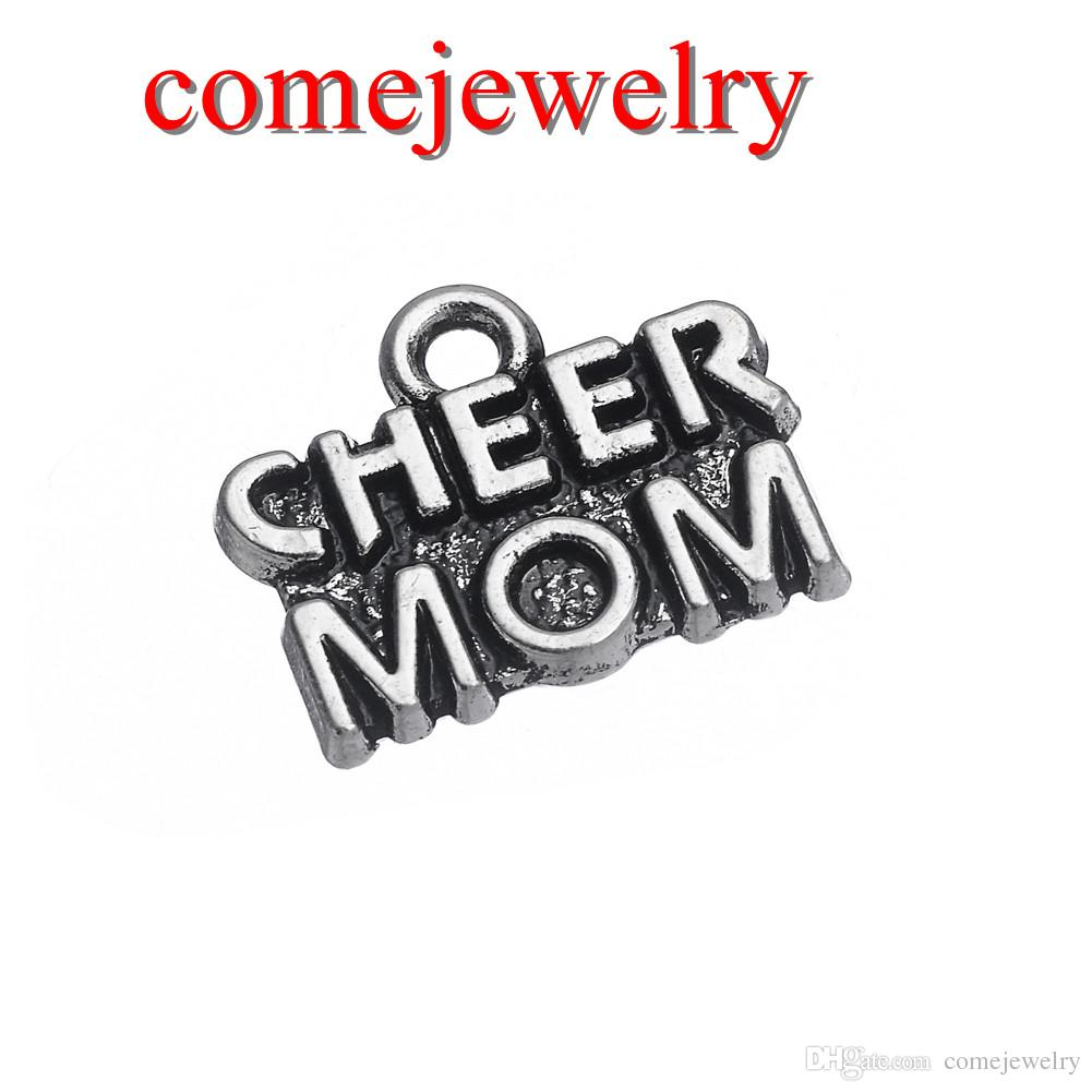 Hot selling tibetan silver plated cheer mom word charms cheering hot selling tibetan silver plated cheer mom word charms cheering jewelry tibetan silver plated letter charm diy jewelry online with 026piece on altavistaventures Gallery
