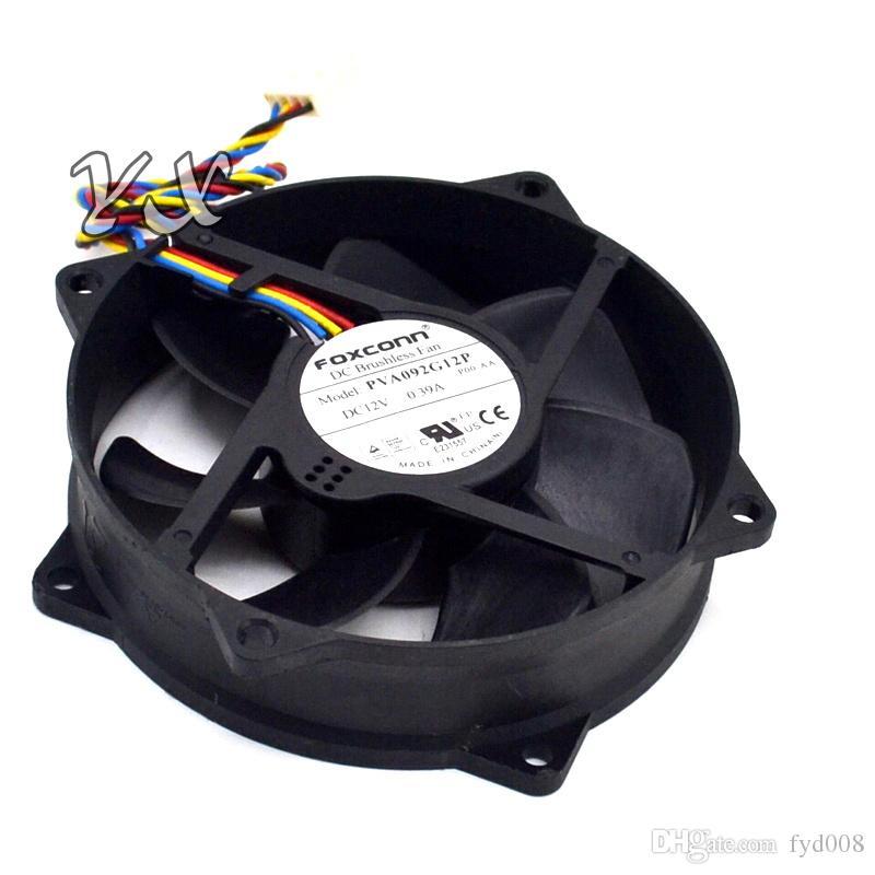 Original Foxconn PVA092G12P 90*90*25mm 9*9cm 9025 9cm 12V 0.39A PWM 4-line Server - Round Fan