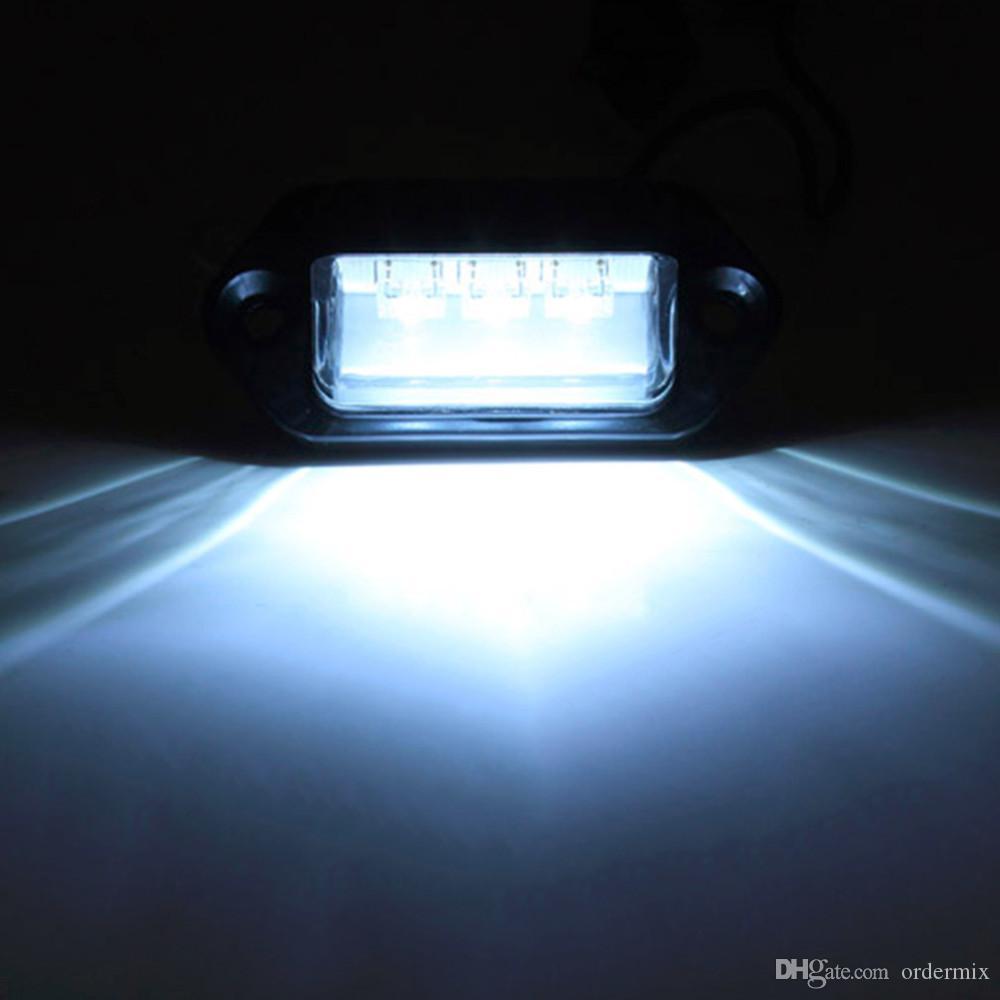 Trailer Truck taillight car license plate LED light 3LED trailer light