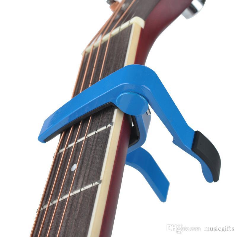 Guitare Capo Changement Rapide Acoustique Guitare Accessoires Déclencheur Capo Clé Clavier-Aluminium