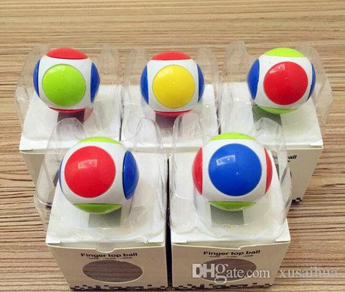 2017 New Ball Fid Spinner Football Hand Spinner Edc Round