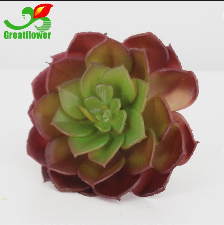 Plantes artificielles avec vase Bonsai Tropical Cactus Faux Plante Succulente En Pot Bureau Maison Pot De Fleur Décoratif