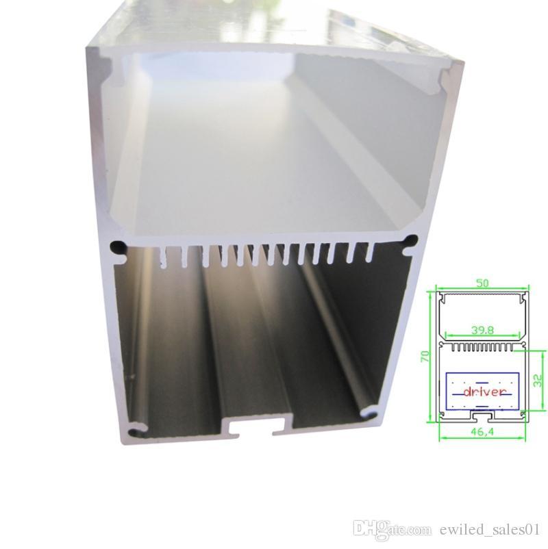 100 X 1M setsHome design aluminum profile led strip light and large U-shape extruded led extrusion for suspension or pendant light