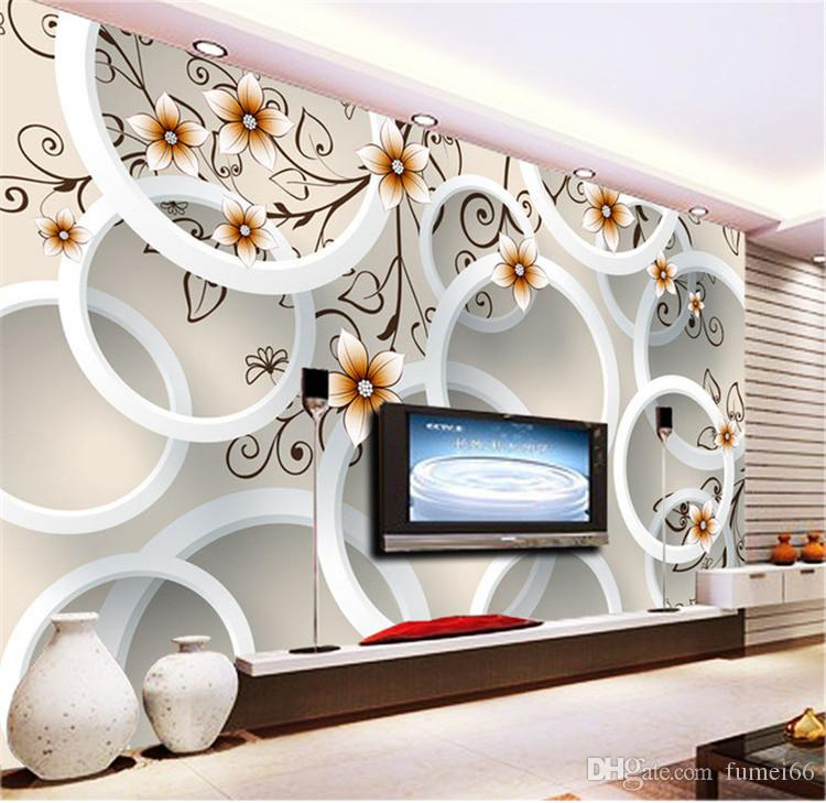 Custom 3d Wallpaper Design Flowers Photo Kitchen Bedroom Living