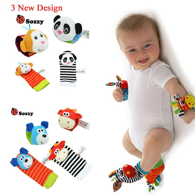 Wholesale Baby Toys : Wholesale baby rattle toys wrist foot finder small