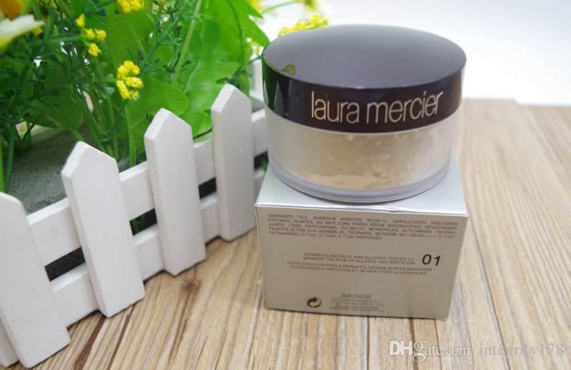 Neue Laura Mercier Lose Pulver 29g Stiftung transluzente Poudre Libre Fixante 3 Farben Laura Mercier Pulver # 1 # 2 # 3 12 Stück / Los DHL