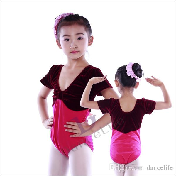 a067140acdbe 2019 Child Ballet Leotard C2016 Short Sleeve Velour Children Dance Leotards  Wholesale Dance Wear Chinese Dance Supplier From Dancelife, $64.45    DHgate.Com