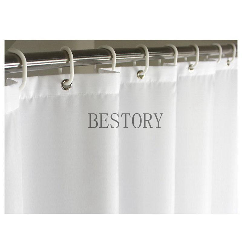 BESTORY Starfish on The Beach Shower Curtains Summer Bathroom Curtain Waterproof Fabric with 12 Hook Rings