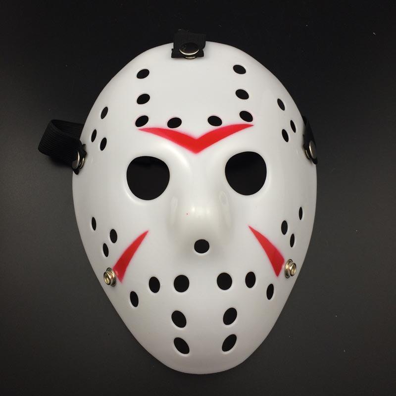 DHL! Máscara de Halloween caliente Nuevo Jason Cosplay máscaras Fiesta de disfraces Máscara divertida de Halloween Máscara asesina de Halloween