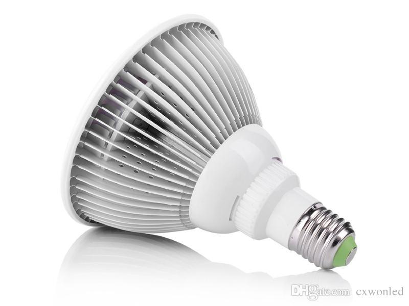 12 W 24 W Led Büyümek Işık E27 PAR38 Topraksız Sera için Led Bitki Büyümek Ampul Sera AC85-265V