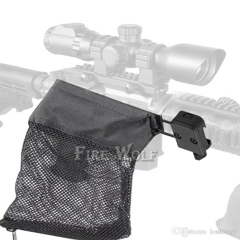 حريق الذئب AR-15 الذخيرة النحاس قذيفة الماسك شبكة فخ انغلق إغلاق ل 20 ملليمتر الحديدية نايلون شبكة الأسود