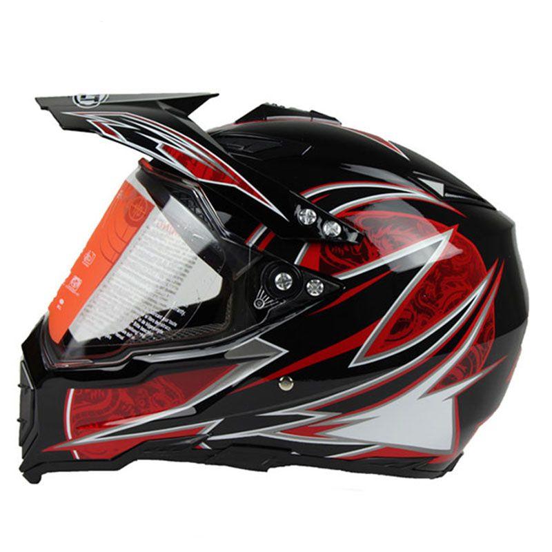 TKOSM 2020 de haute qualité Nouvelle arrivée Casque de moto professionnel Moto Cross Casque VTT DH Racing Motocross Casque de vélo de descente