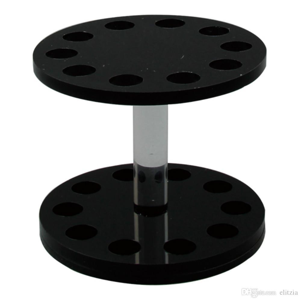 Elitzia ETMT0525R Portapenne manicure a forma rotonda i Opzionale Nero, bianco, trasparente