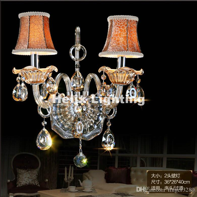 crystal wall sconces uk for bedroom arrival lamp champagne cheap