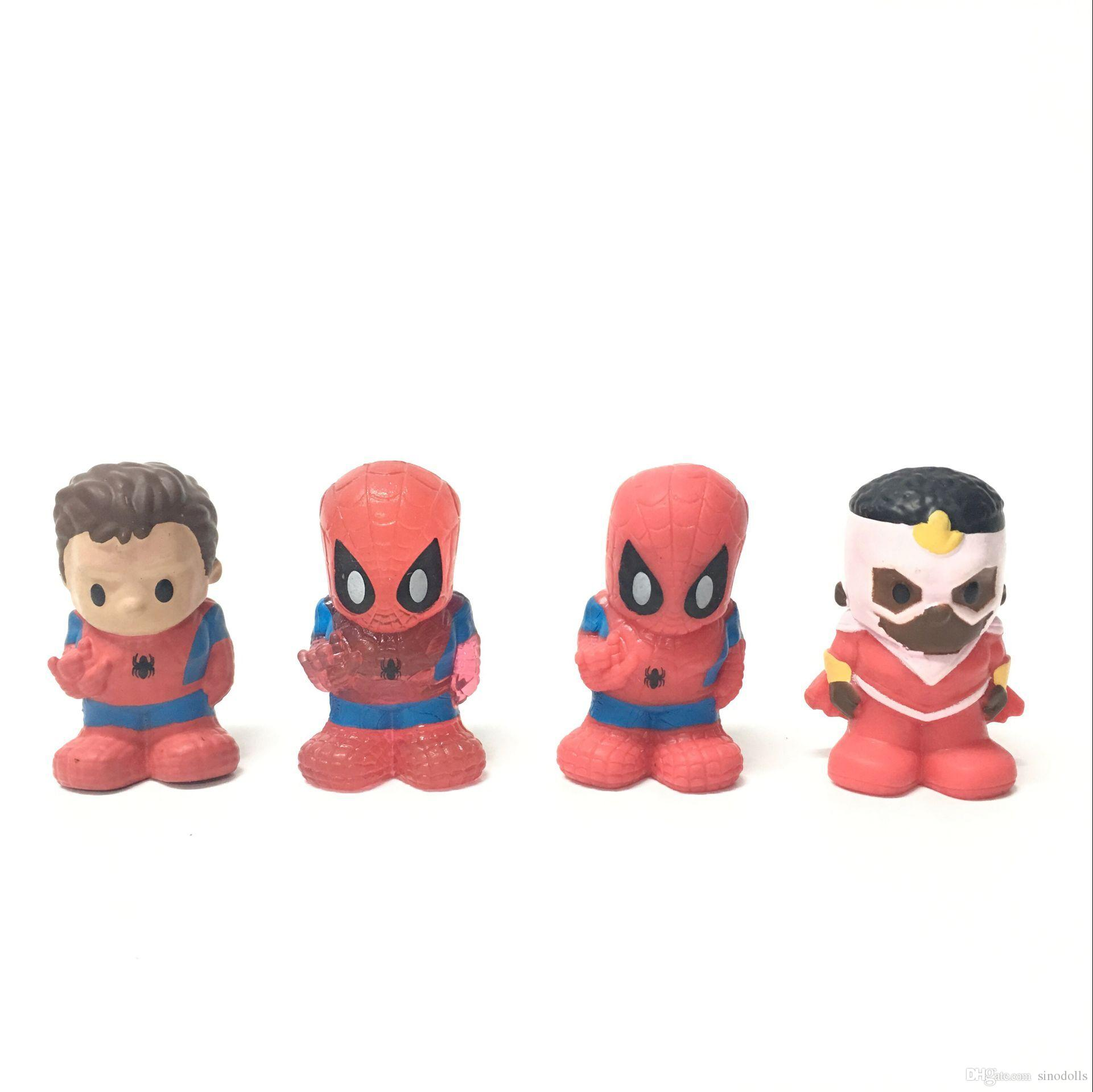 2018 Random 1 5 Surper Rare Ooshies Pencil Toppers Figure Marvel