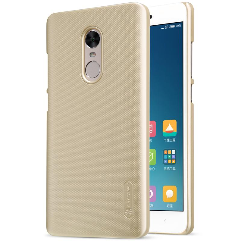 quality design 120be 3b292 Wholesale- redmi note 4x case (5.5 inch) Nillkin frosted hard plastic back  cover for xiaomi redmi note 4x case cover with Screen Protector