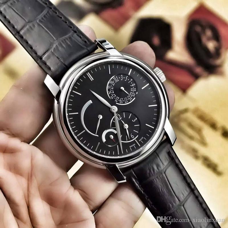 b42be9ca639 Compre 3 Cores Novos Produtos De Vendas Diretas Da Fábrica AAA Qualidade  26380 Relógio Dos Homens De Importação Atualização Automática Multi Função  46mm ...