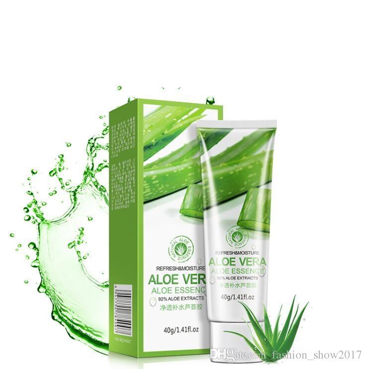 BIOAQUA Brand Aloe Vera Gel Plant Extract Natural Essence Facial Skin Care Face Cream Moisturizing Cream