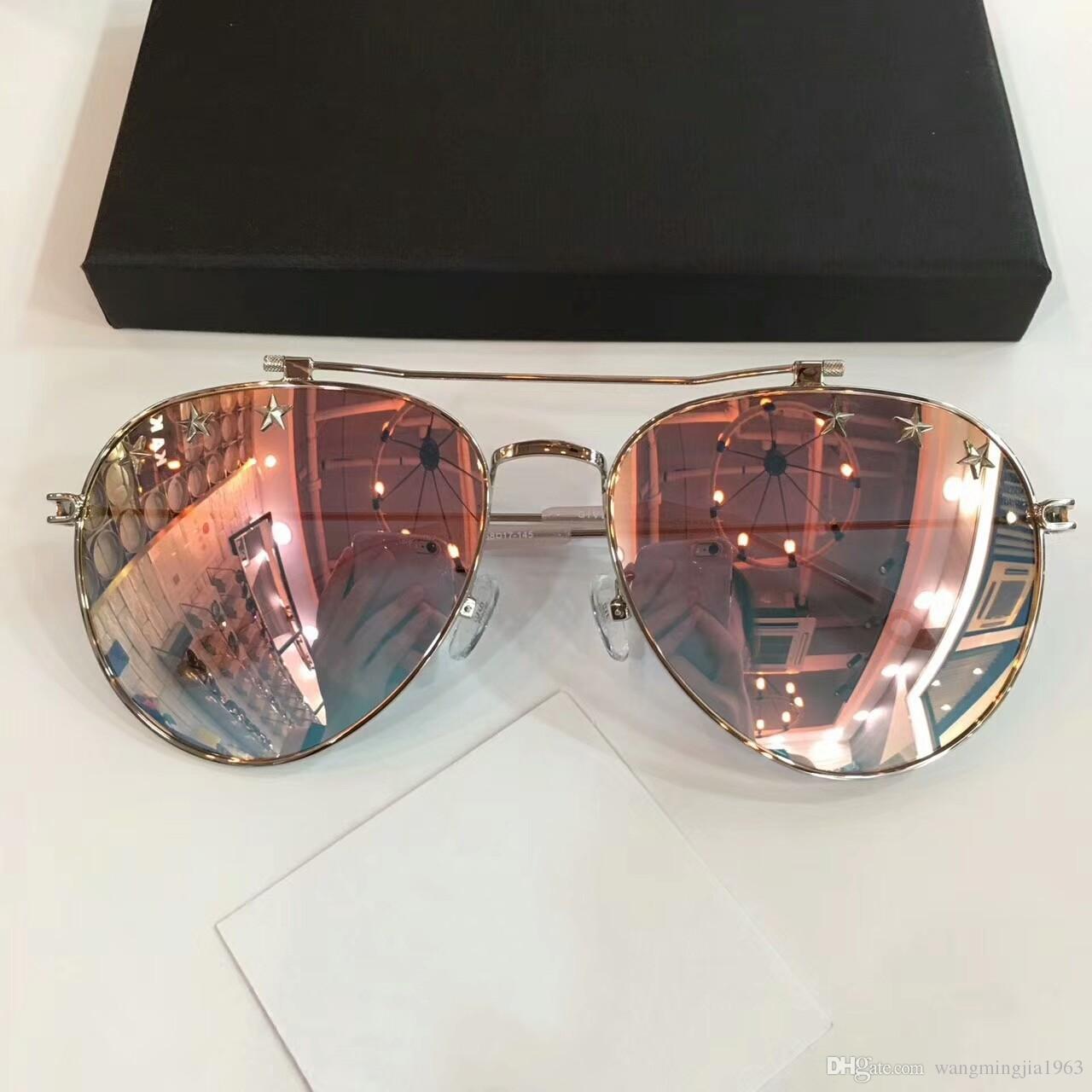 12b6a7fc41 Sunglasses For Men GV7057 Women Men Brand Designer Sunglasses For Women  Star Fashion Style With Box Big Frame Glasses Outdoor Design Sunglasses  Online ...
