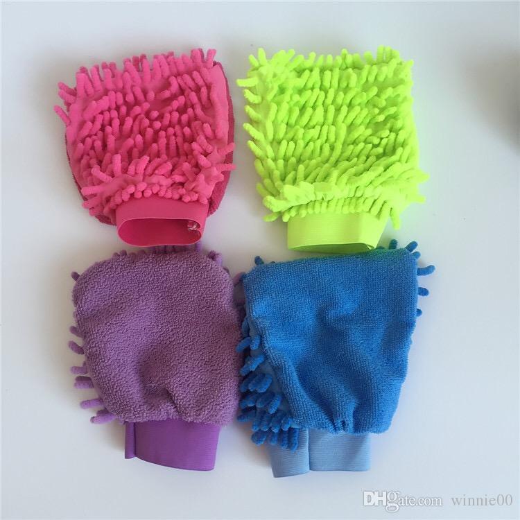 ستوكات الشنيل غسل ميت تنظيف السيارات غسل قفاز قفاز مجهرية المعكرونة الإسفنج القماش الجملة سيارة غسالة
