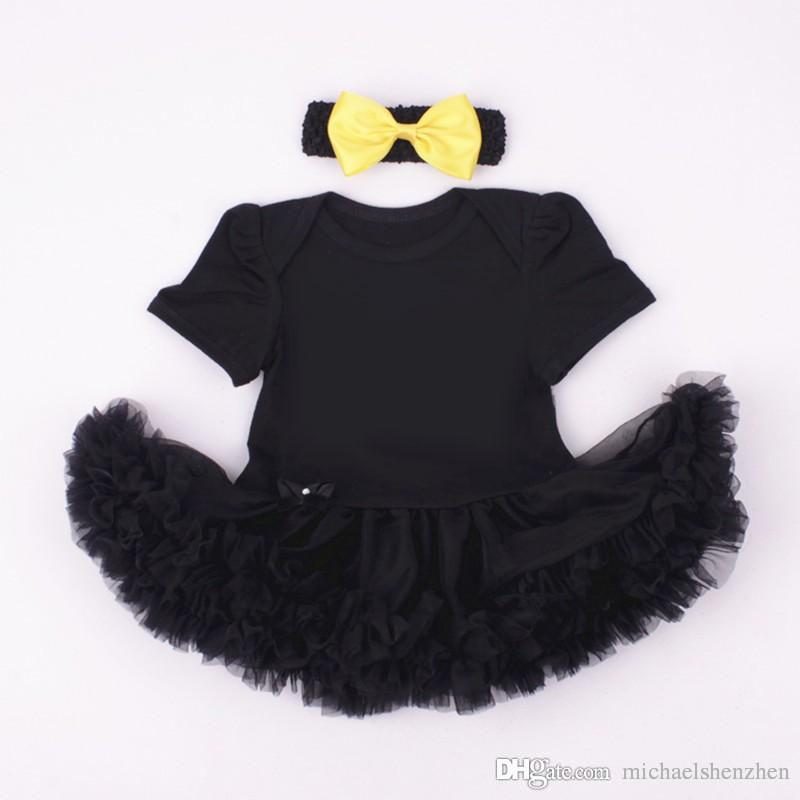 Children Avengers short sleeve tutu rompers dress+bow headbands new cartoon girl Cartoon baby rompers dress C001