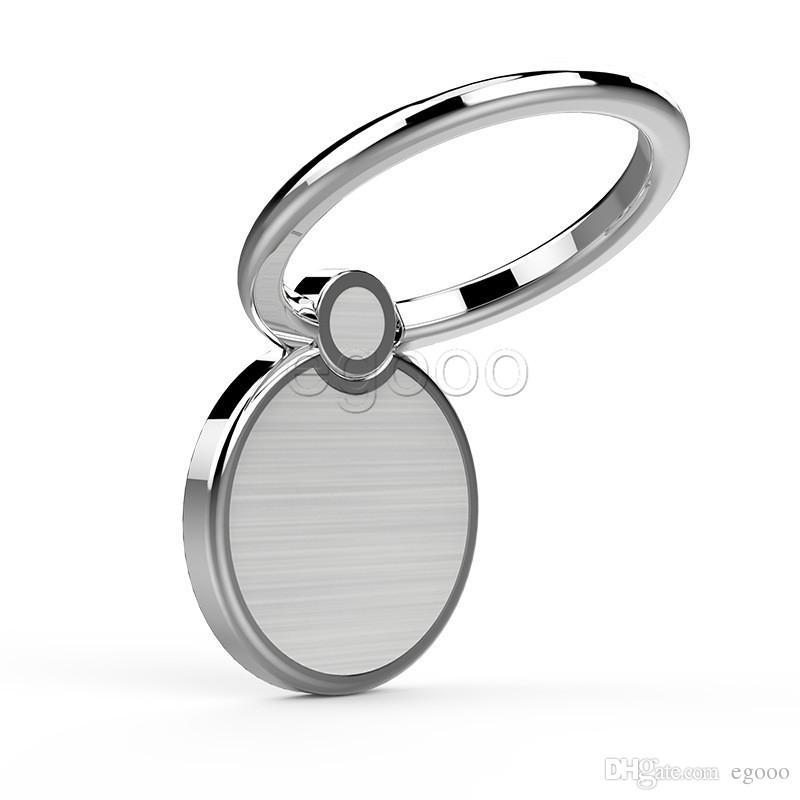 Supporto universale del dito dell'anello di rotazione 360 del dito con l'automobile del magnete del gancio libero facendo uso del supporto del supporto del telefono iPhone X 8 7 6 Più S9 più
