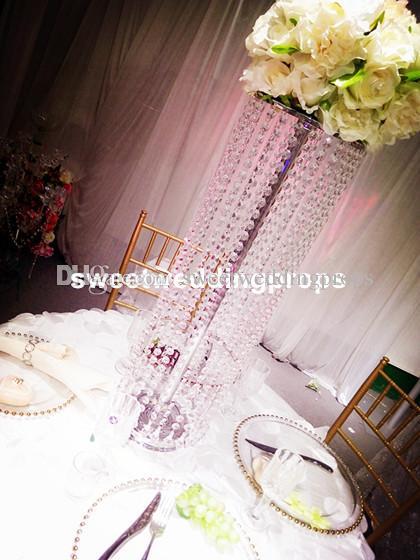Düğün Etkinlikler için Dekorasyon Çiçek Tall Vazo