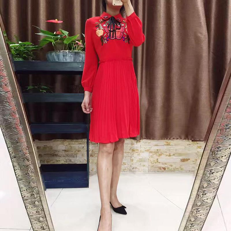 Hot Sale Sheer Lace Long Sleeves Evening Dress With Bateau Emerald