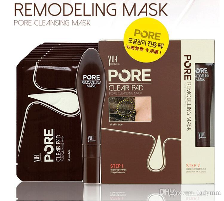New Sale YU.R Pore remodeling mask Face Care Facial Minerals Conk Nose Blackhead Remover Pore Deep Cleansing Black Head EX Pore Strip