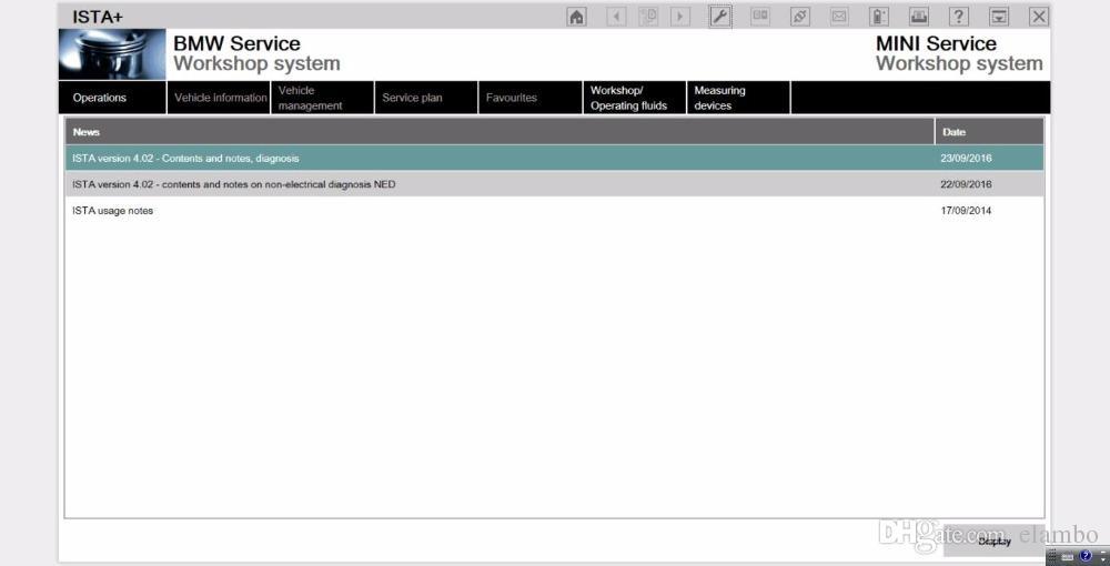 BMW ICOM A2 B C Programmazione diagnostica Interfaccia 3 in 1 con software hdd v2017.05