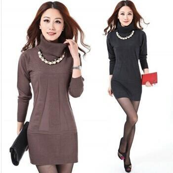 Wholesale-Turtleneck Sweater Christmas Sweater Women Plus Size ... 0c738d8d1